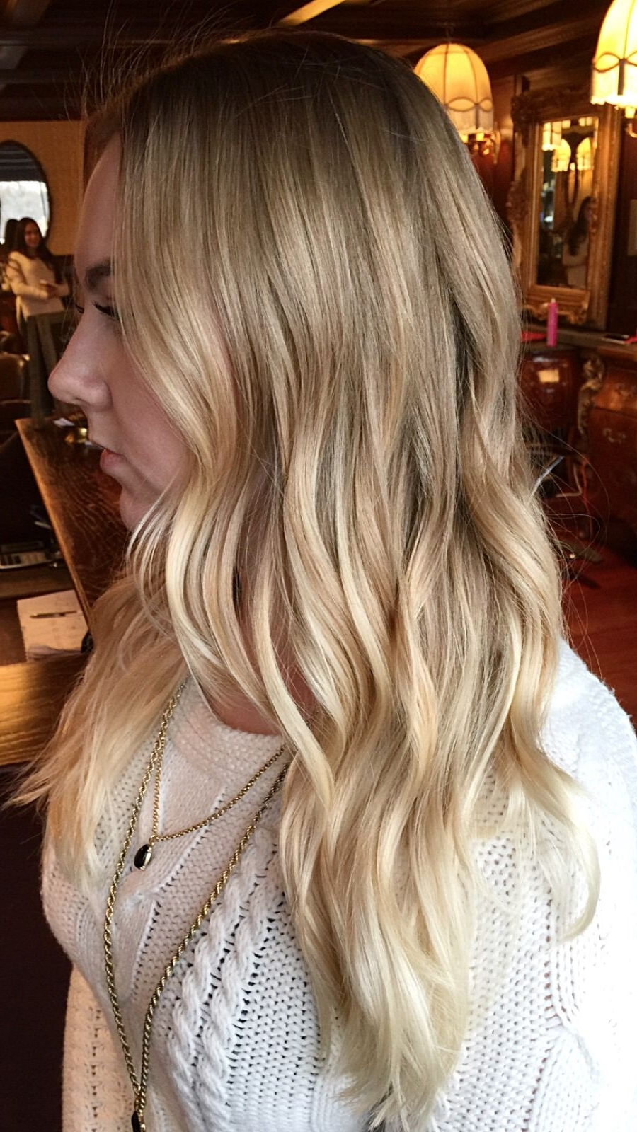 Pale With Regard To Current Pale Blonde Balayage Hairstyles (View 13 of 20)