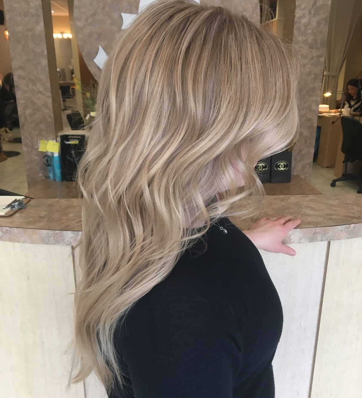 Pearl Icy Blonde Summer Hair Color Highlights Pale Golden Blonde With Most Up To Date Pearl Blonde Highlights (View 11 of 20)