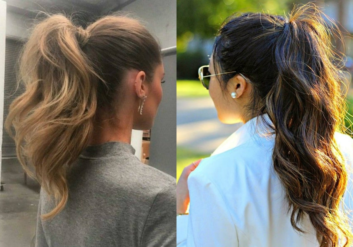 Perfectly Easy Ponytail Hairstyles (View 14 of 20)