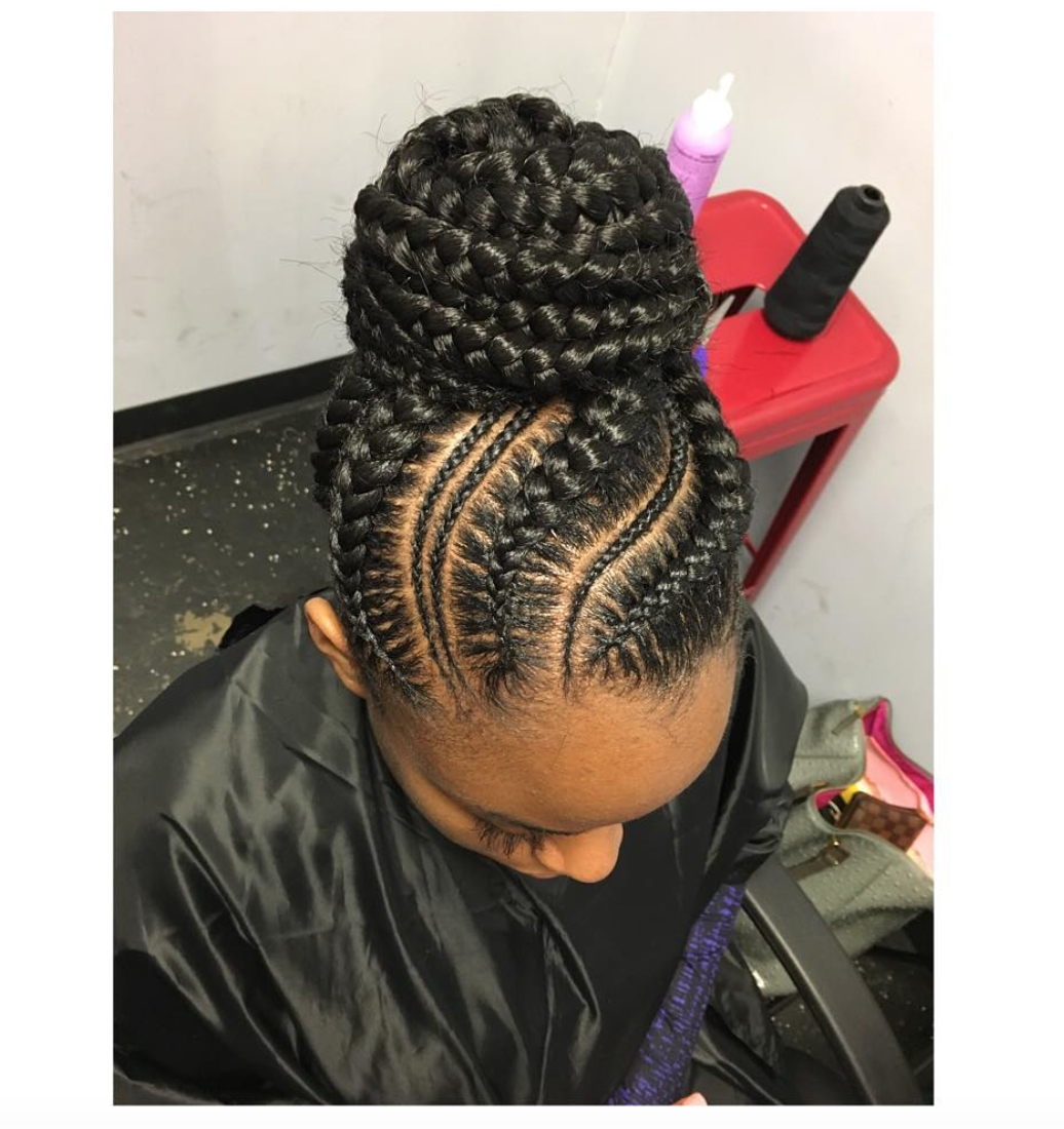 Pinblack Hair Information – Coils Media Ltd On Braids And Twists Pertaining To 2018 Reverse French Braids Ponytail Hairstyles With Chocolate Coils (View 7 of 20)
