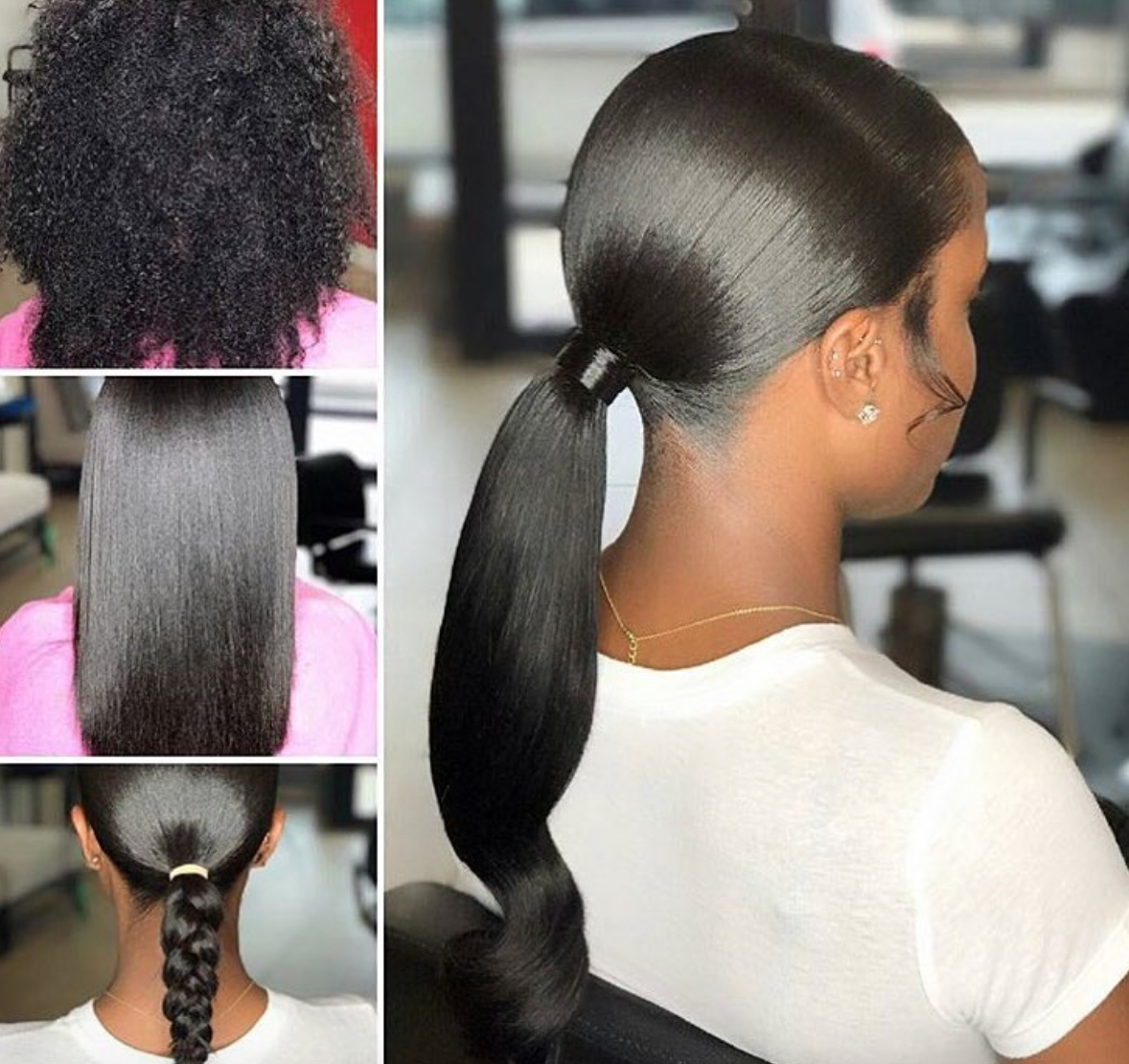 Pinblack Hair Information – Coils Media Ltd On Natural Throughout Most Current Sleek Straightened Black Ponytail Hairstyles (View 12 of 20)