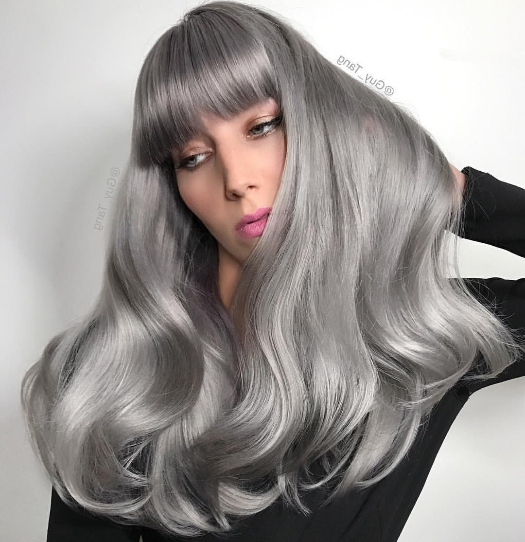 Pinkenra Professional On Kenra Color: Silver And Violet Within Most Current Silver Bettie Blonde Hairstyles (View 14 of 20)