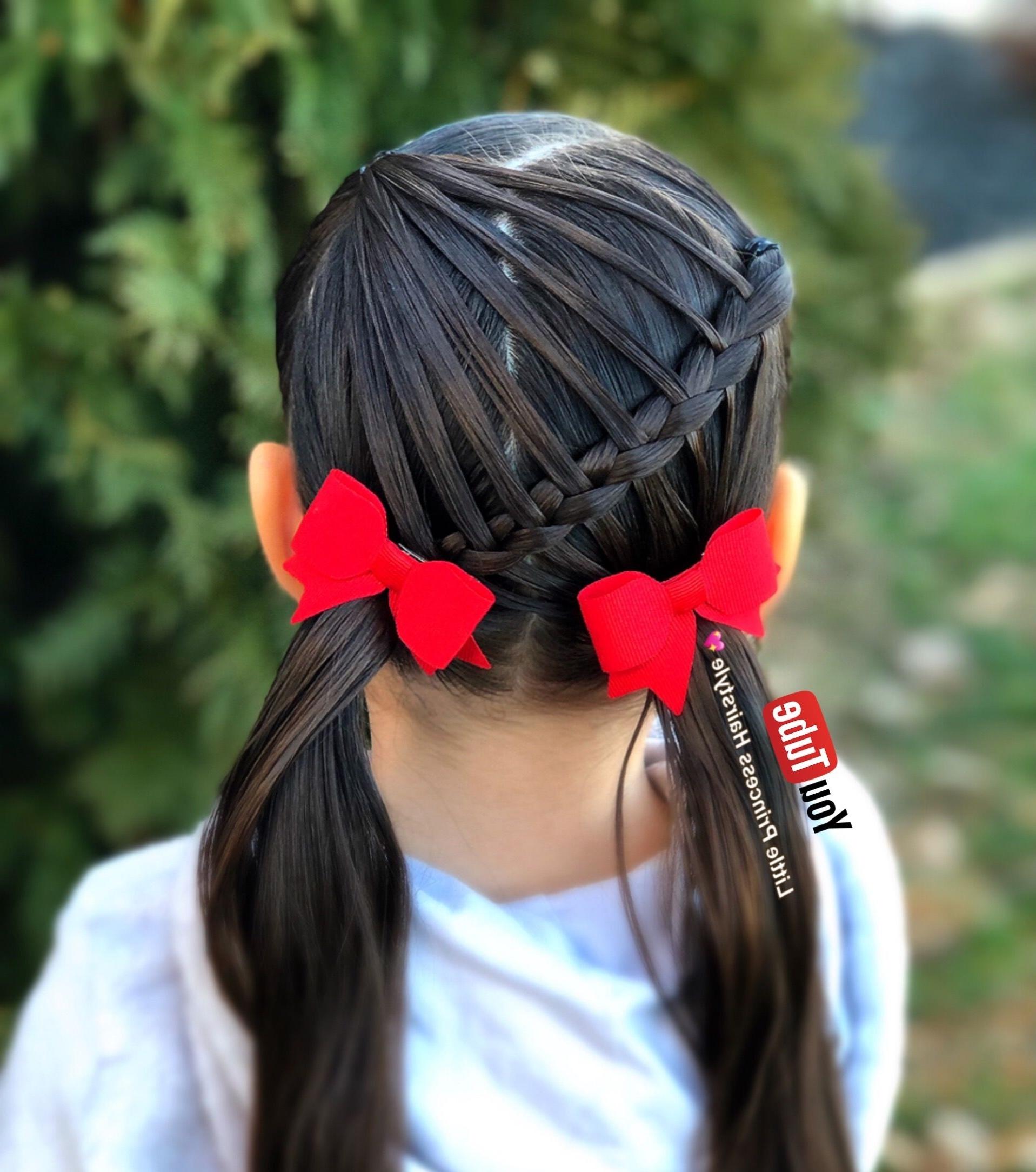 Pinlittle Princess Hairstyle On Peinados Para Niñas Youtube Throughout Recent Princess Tie Ponytail Hairstyles (View 14 of 20)