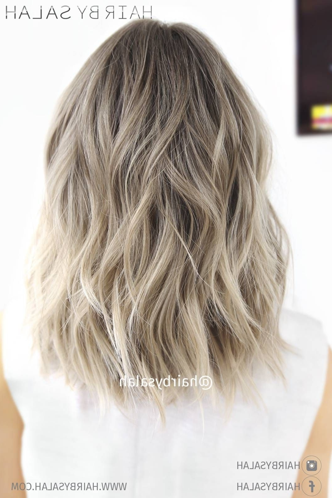 Featured Photo of Light Ash Locks Blonde Hairstyles