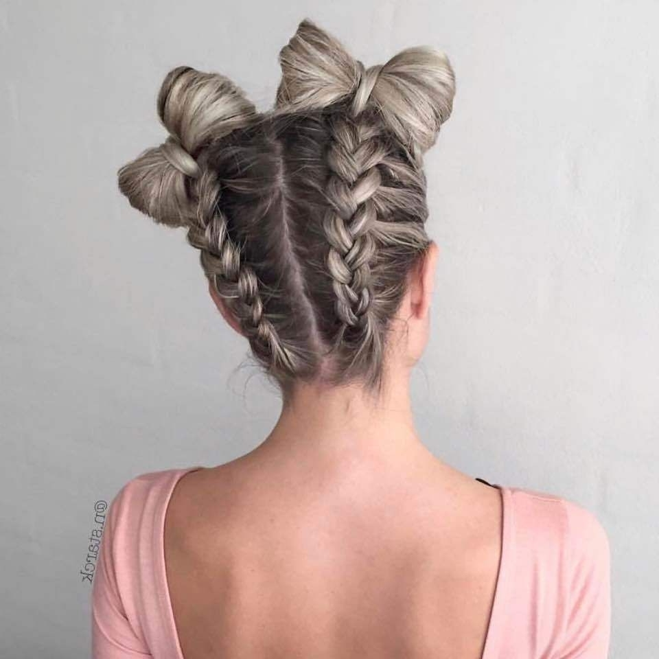 Pinterest Inside Favorite Bow Braid Ponytail Hairstyles (View 14 of 20)