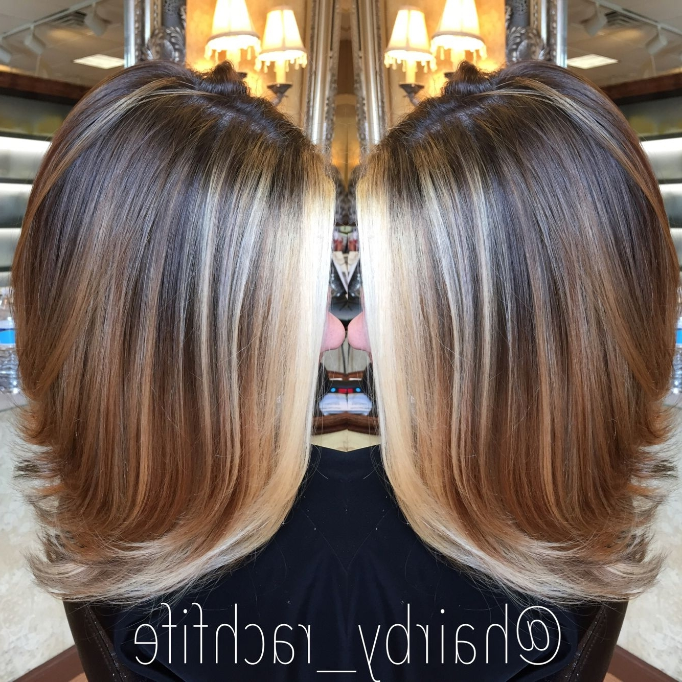 Pinterest With Popular Bronde Bob With Highlighted Bangs (View 16 of 20)
