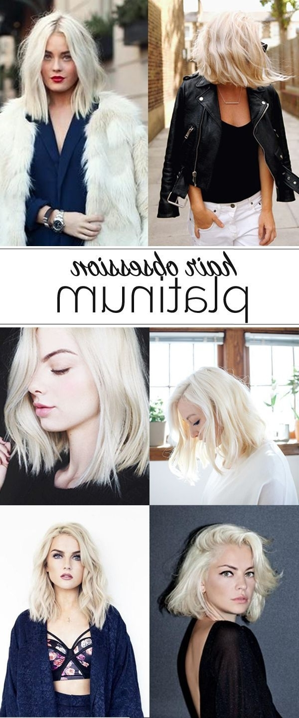 Pinterest With Regard To Latest Platinum Blonde Long Locks Hairstyles (View 17 of 20)