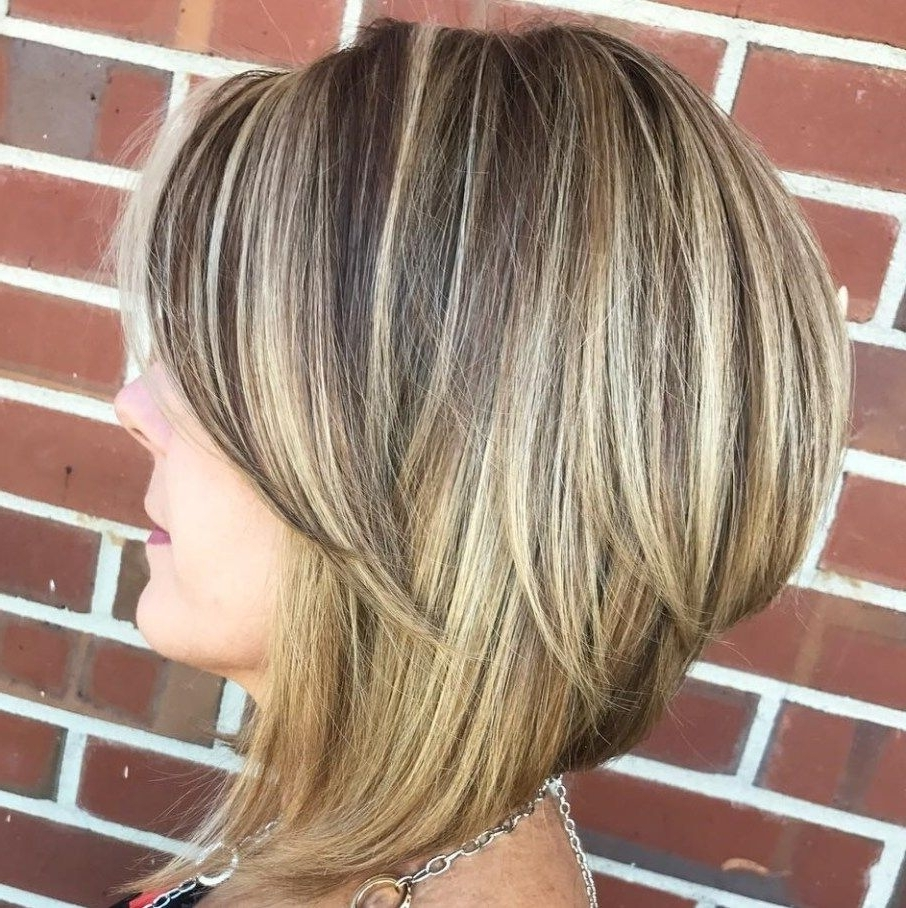 Pinterest Within Current Bronde Bob With Highlighted Bangs (View 7 of 20)