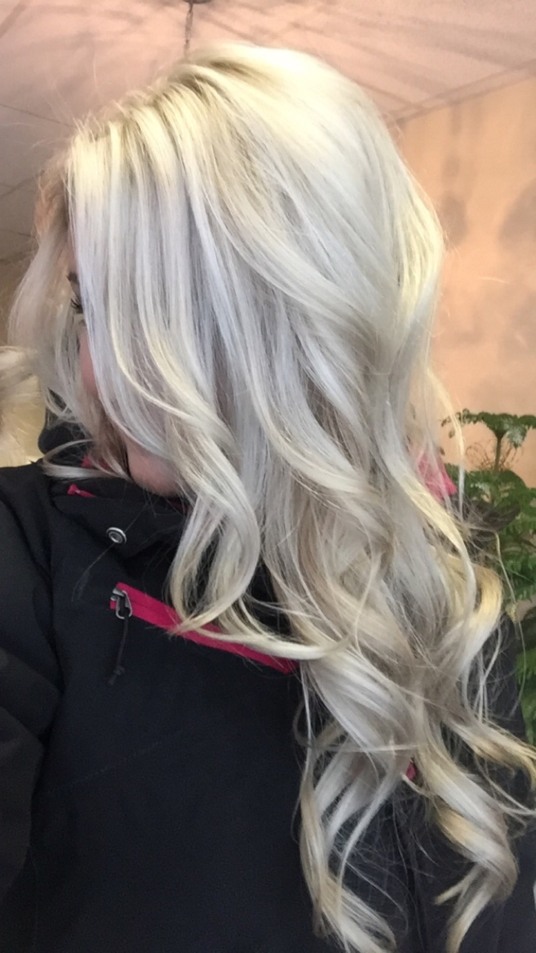 Platinum Blonde Hair – 20 Ways To Satisfy Your Whimsical Tastes Regarding Latest Grayscale Ombre Blonde Hairstyles (View 17 of 20)