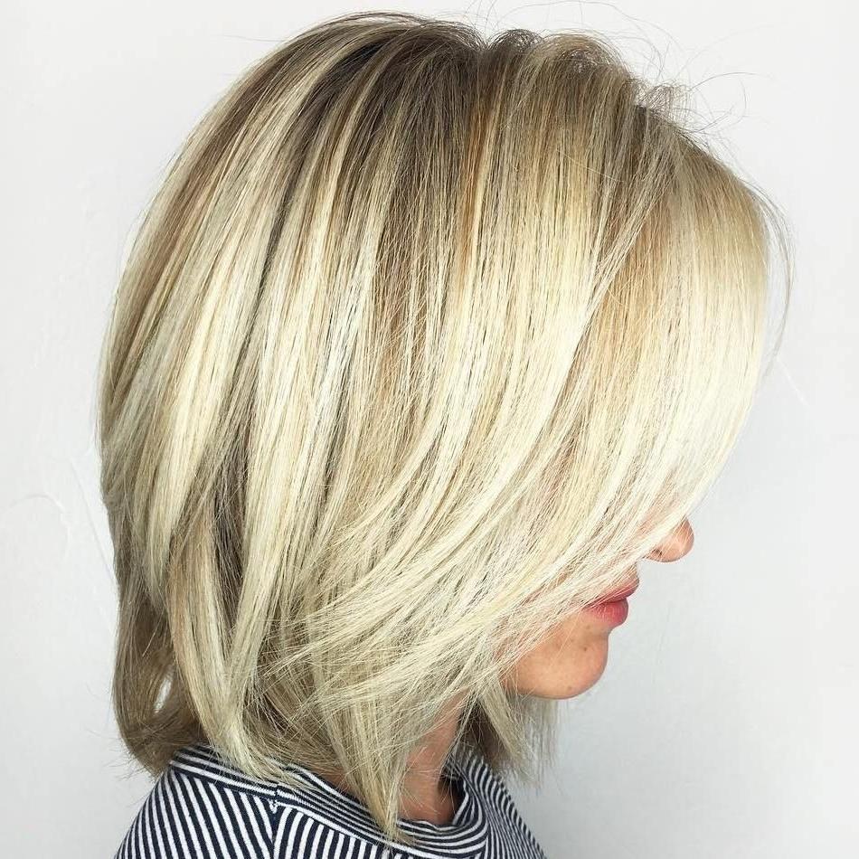 Platinum Highlights Regarding Recent Thin Platinum Highlights Blonde Hairstyles (View 19 of 20)