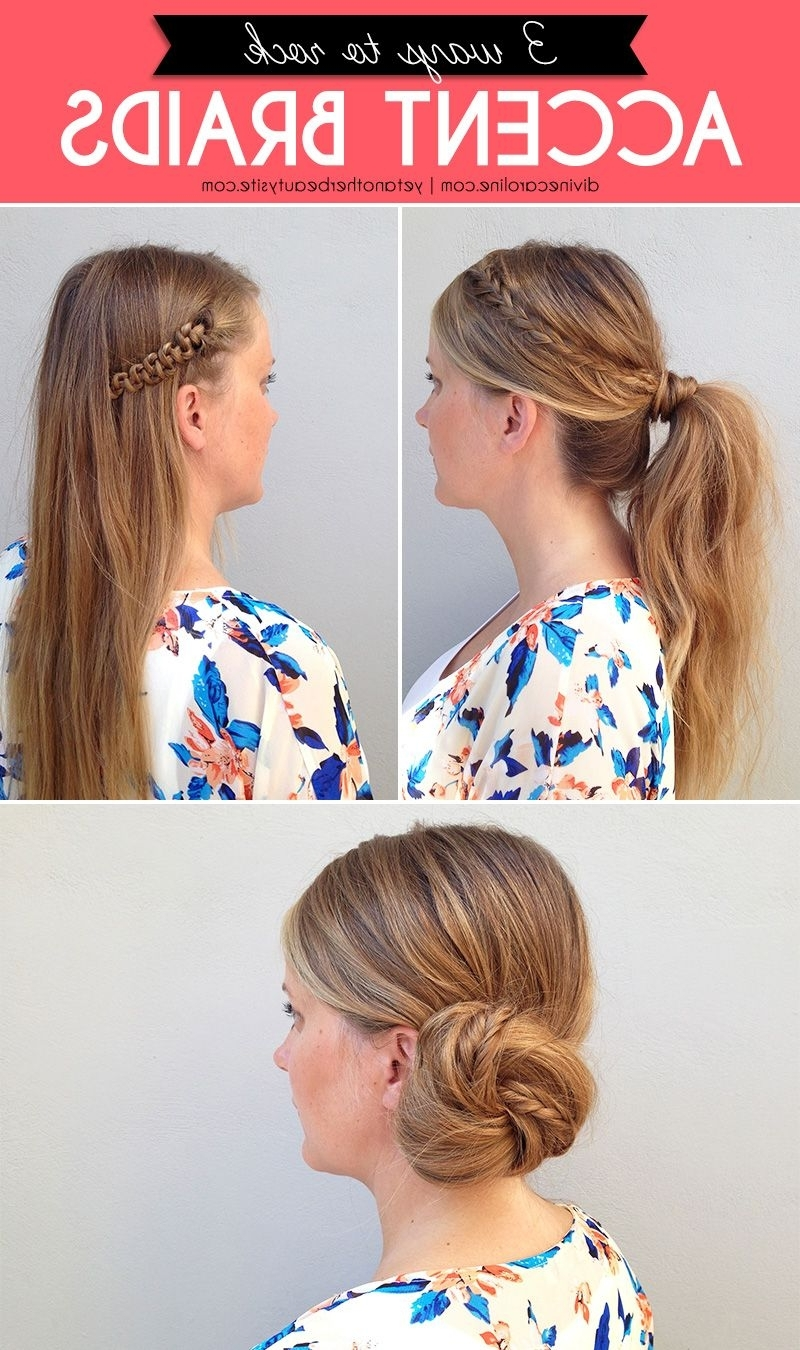 Ponytail, Hair Style And Hair Dos Inside Most Recently Released Pony Hairstyles With Accent Braids (View 18 of 20)