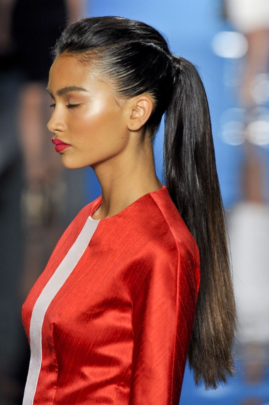 Ponytail, Hair Style And Make Up With Widely Used Fancy Sleek And Polished Pony Hairstyles (View 17 of 20)