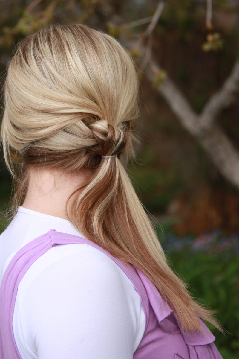 Ponytail Hairstyle Ideas For Teens (View 13 of 20)