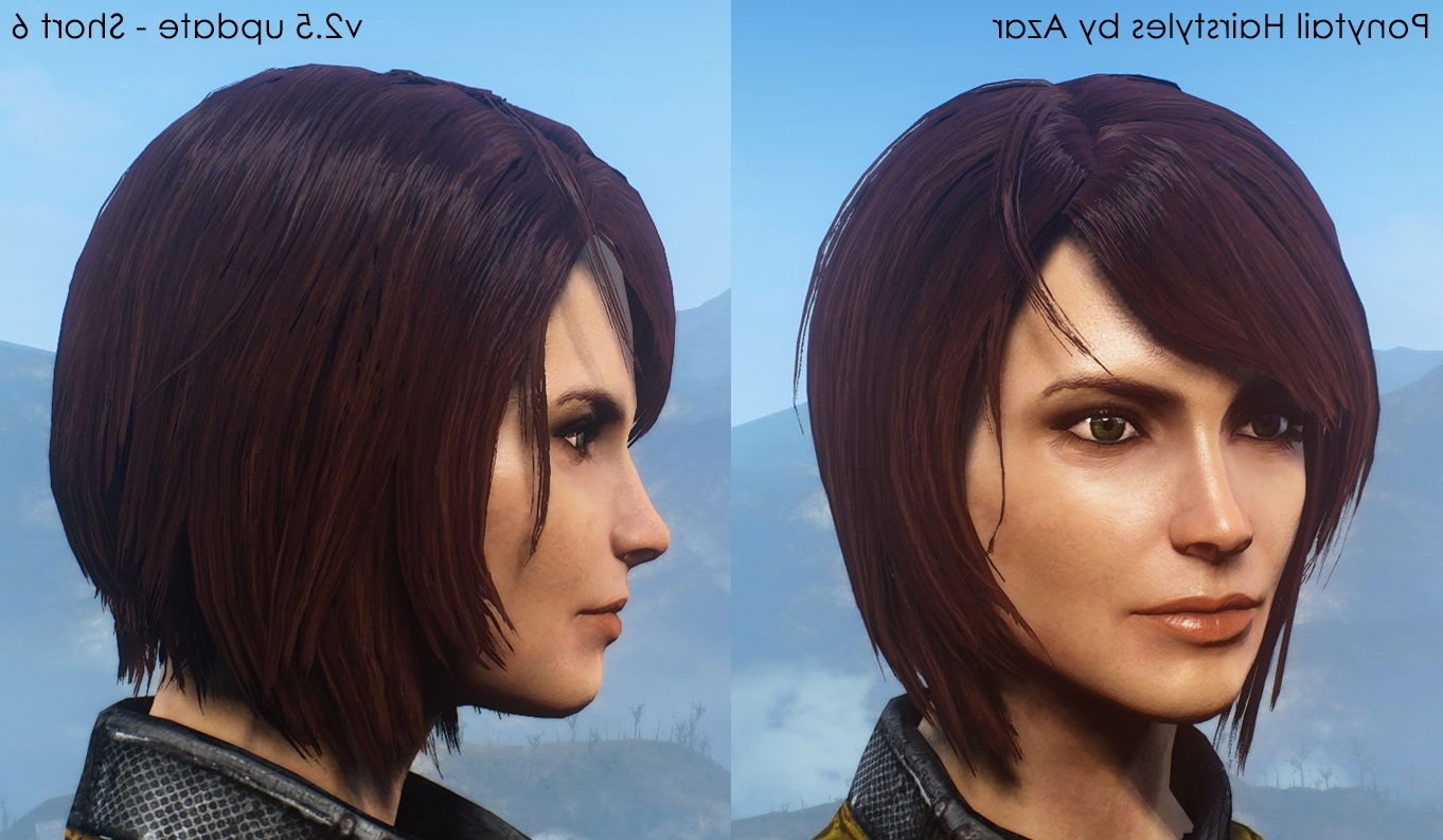 Ponytail Hairstylesazar V (View 3 of 20)