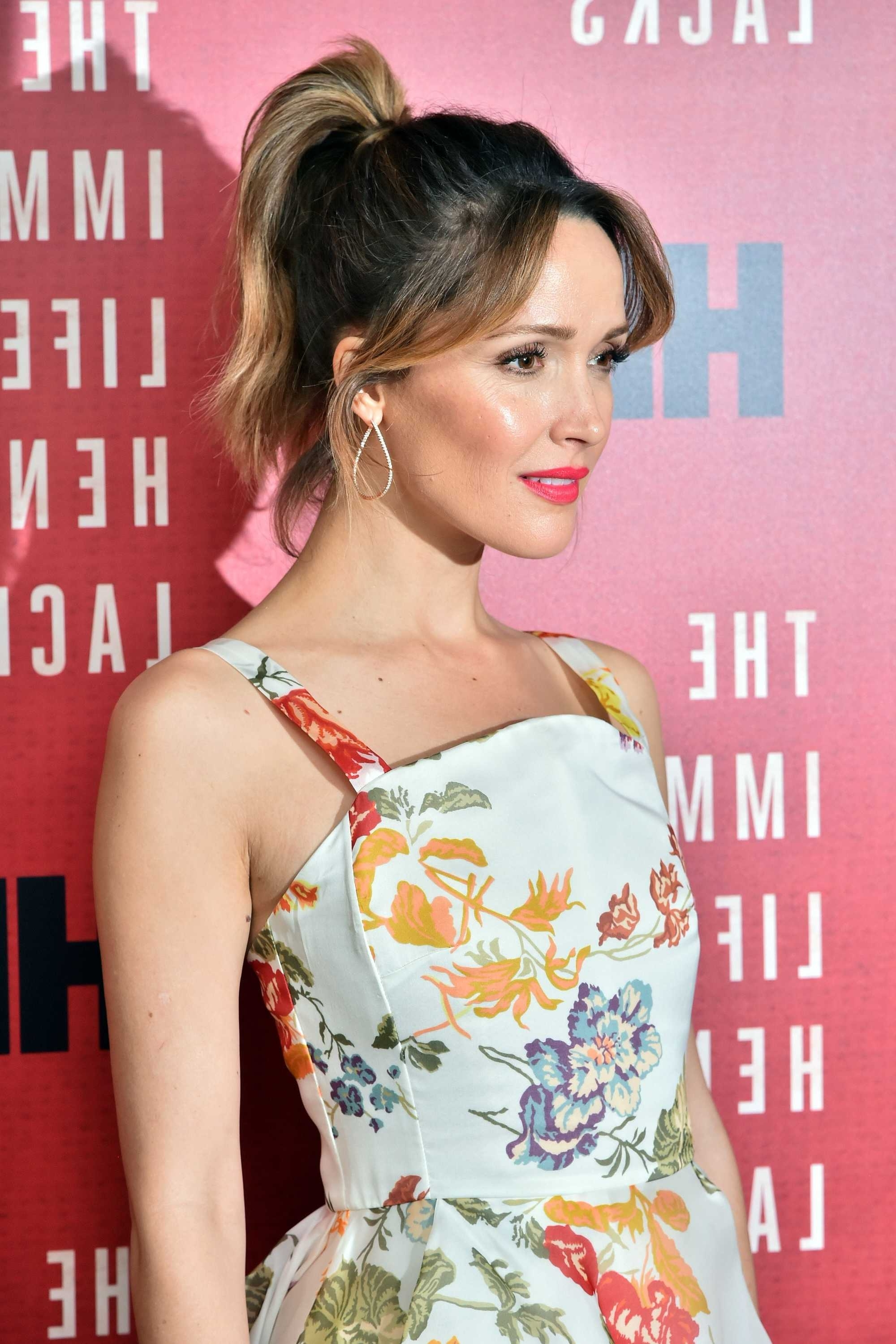 Ponytail With Bangs: 7 Fresh New Ways To Wear The Style With Regard To Latest High Ponytail Hairstyles With Side Bangs (View 13 of 20)