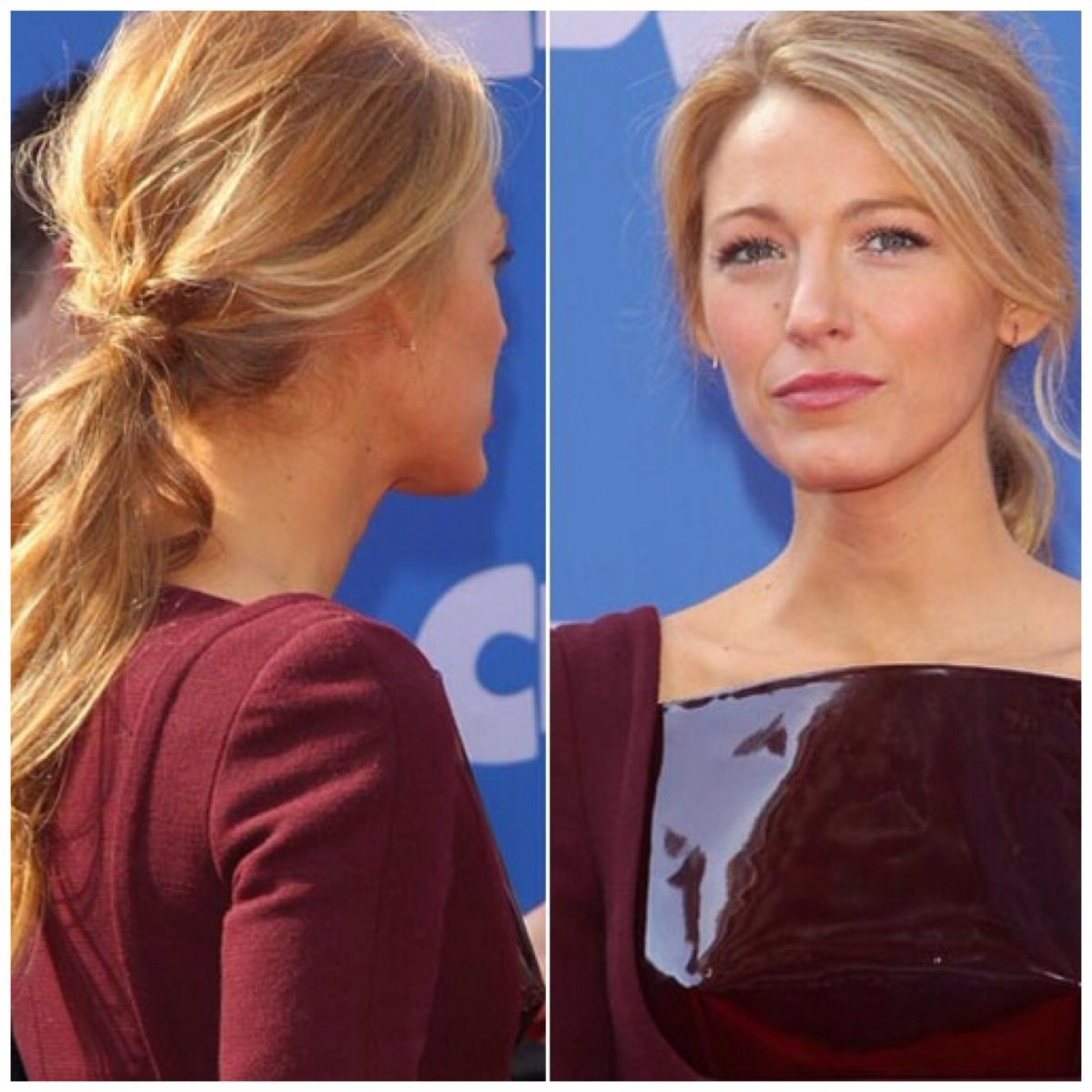 Photo Gallery Of Lively And Lovely Low Ponytail Hairstyles Viewing