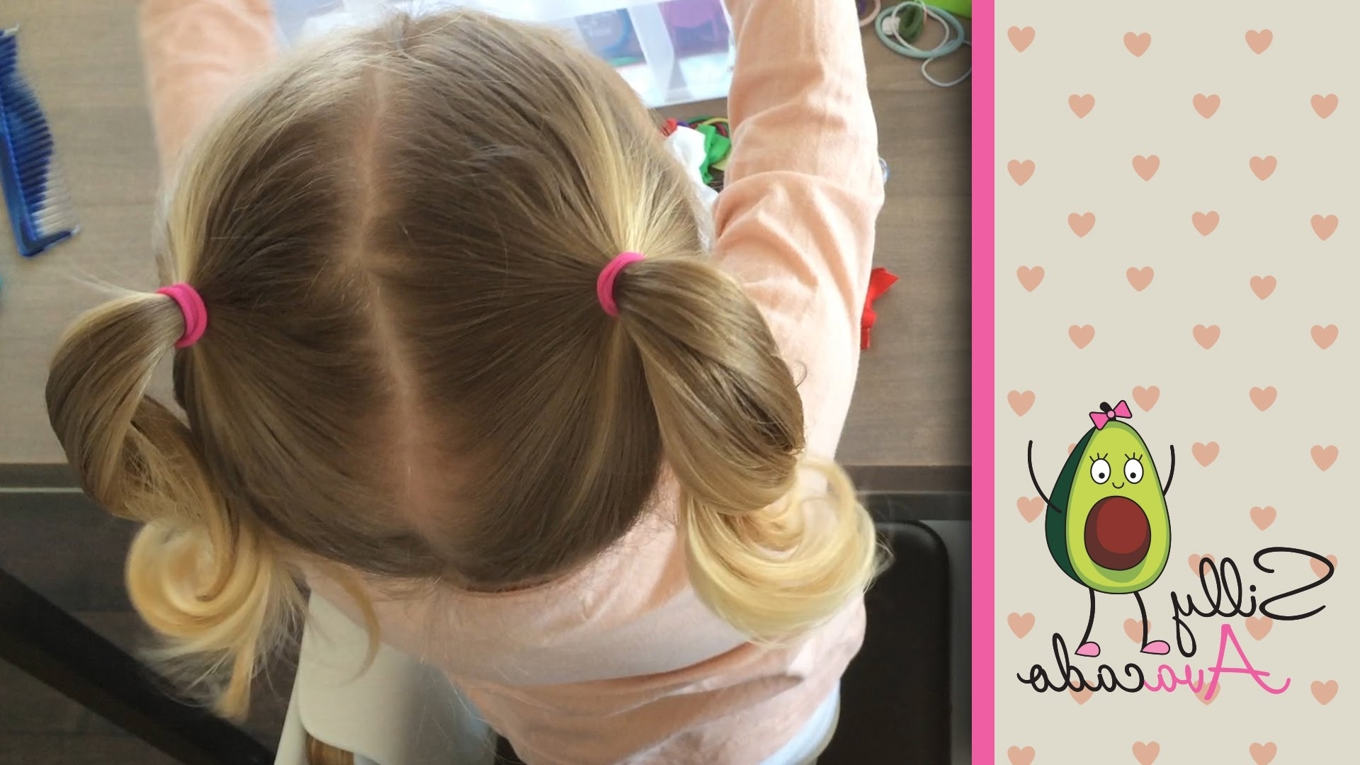 Ponytails – 6 Easy Back To School Ponytail Hairstyles For Toddler For Preferred Dyed Simple Ponytail Hairstyles For Second Day Hair (View 15 of 20)