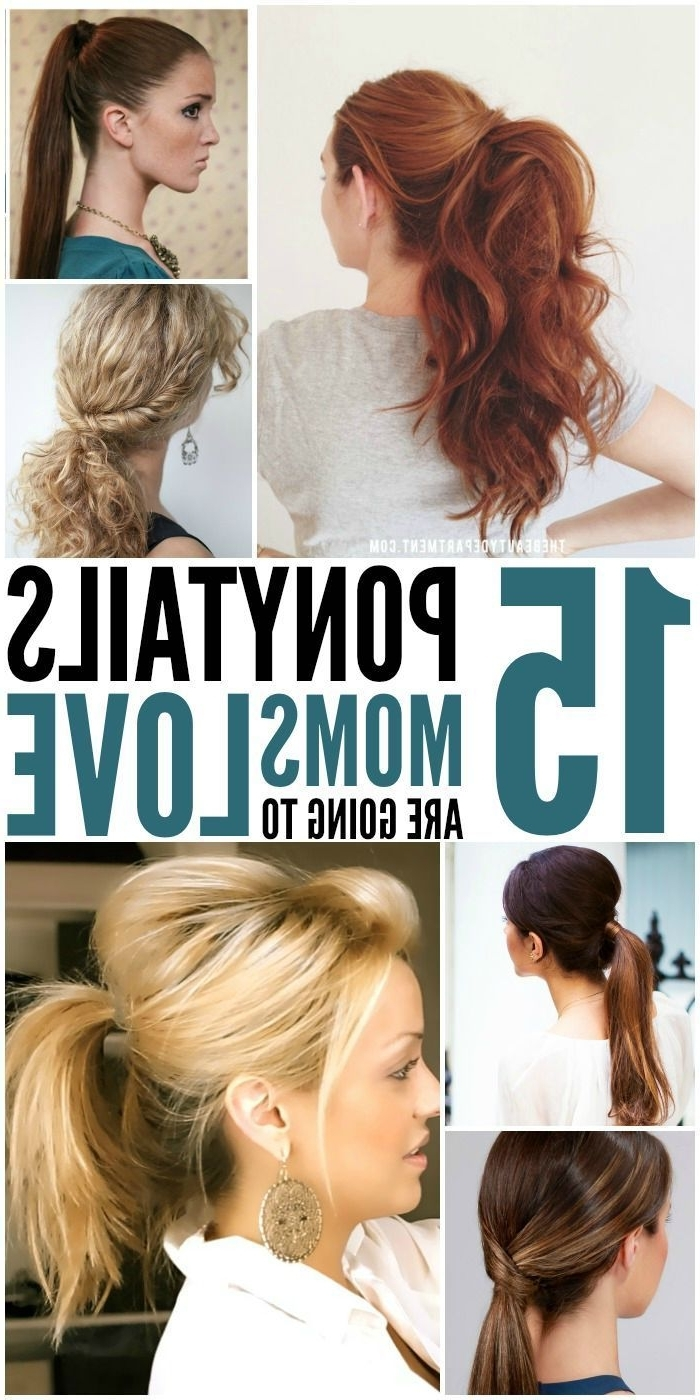 Ponytails – Easy Tips To Make Them Look Fancy! (View 6 of 20)