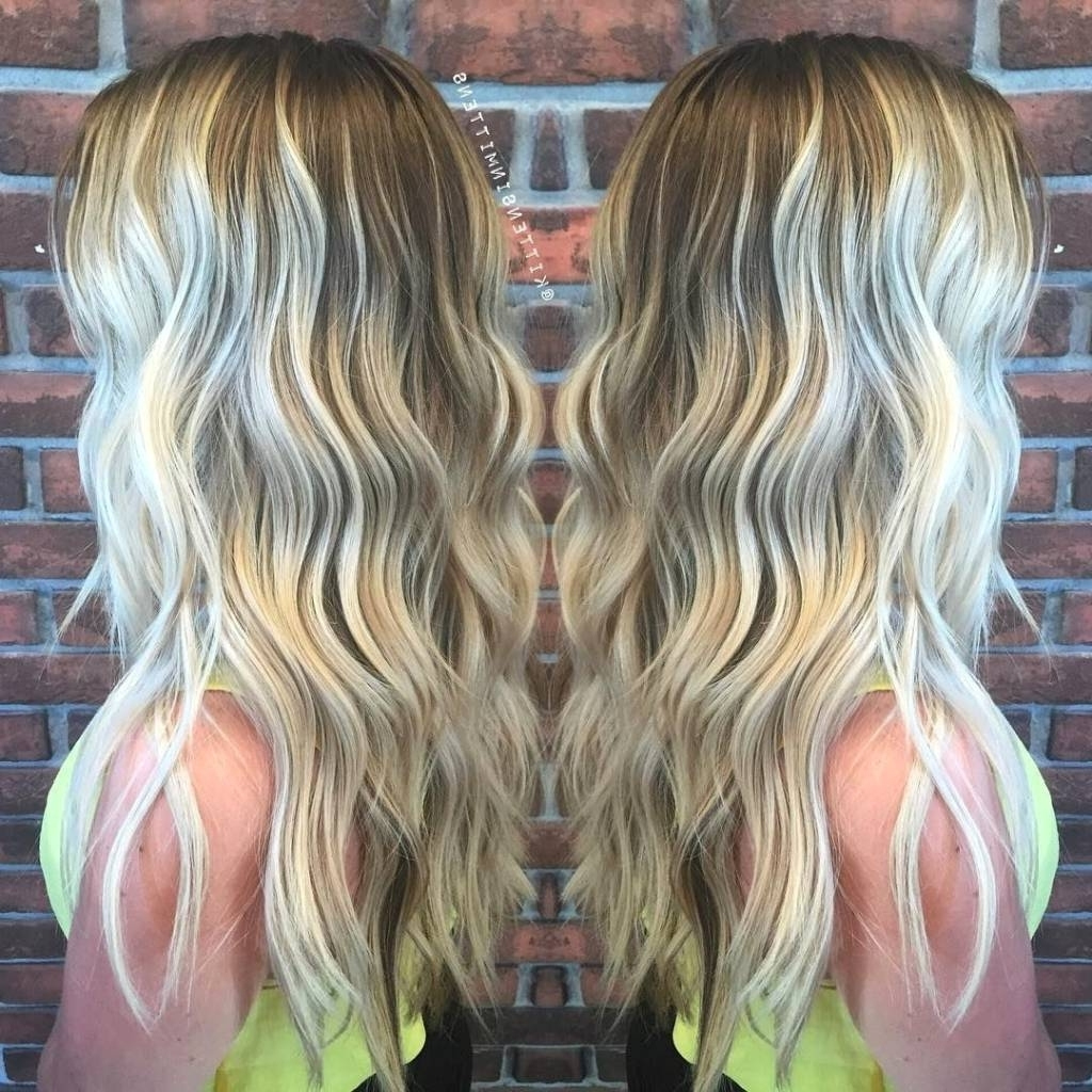 Popular Blonde Hairstyles With Platinum Babylights Intended For Platinum Highlights On Light Brown Hair – Hairstylist (View 17 of 20)