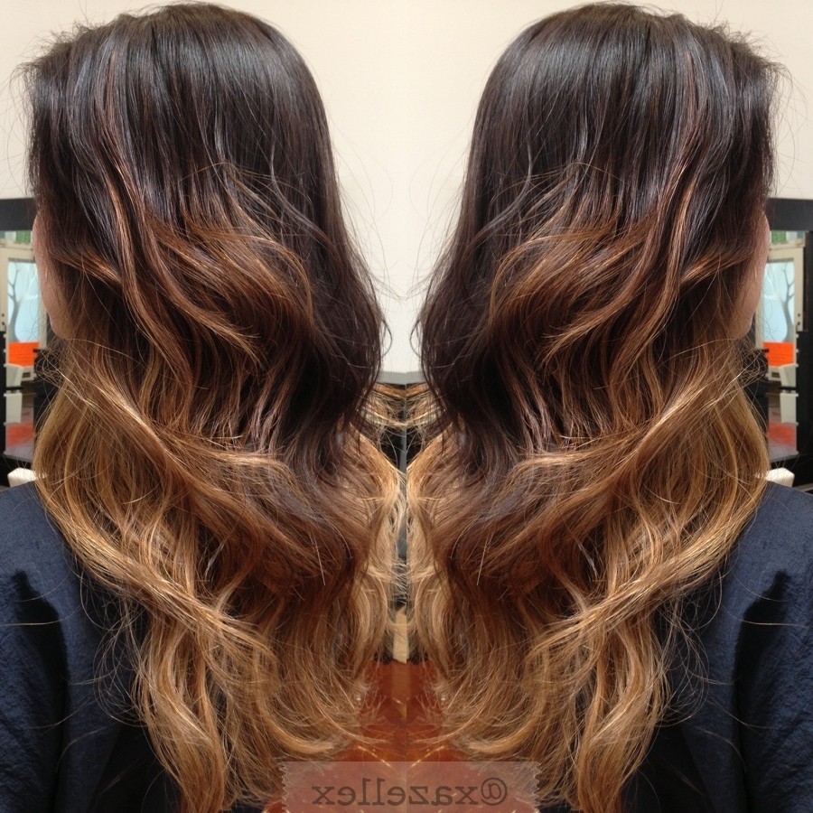 Popular Brown And Dark Blonde Layers Hairstyles Regarding 15 Black And Blonde Hairstyles Black Hair Ombre And Natural Together (View 14 of 20)