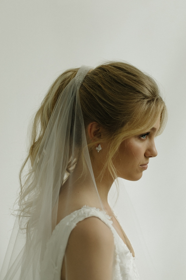 Popular Classic Bridesmaid Ponytail Hairstyles Intended For Into The Night (View 15 of 20)