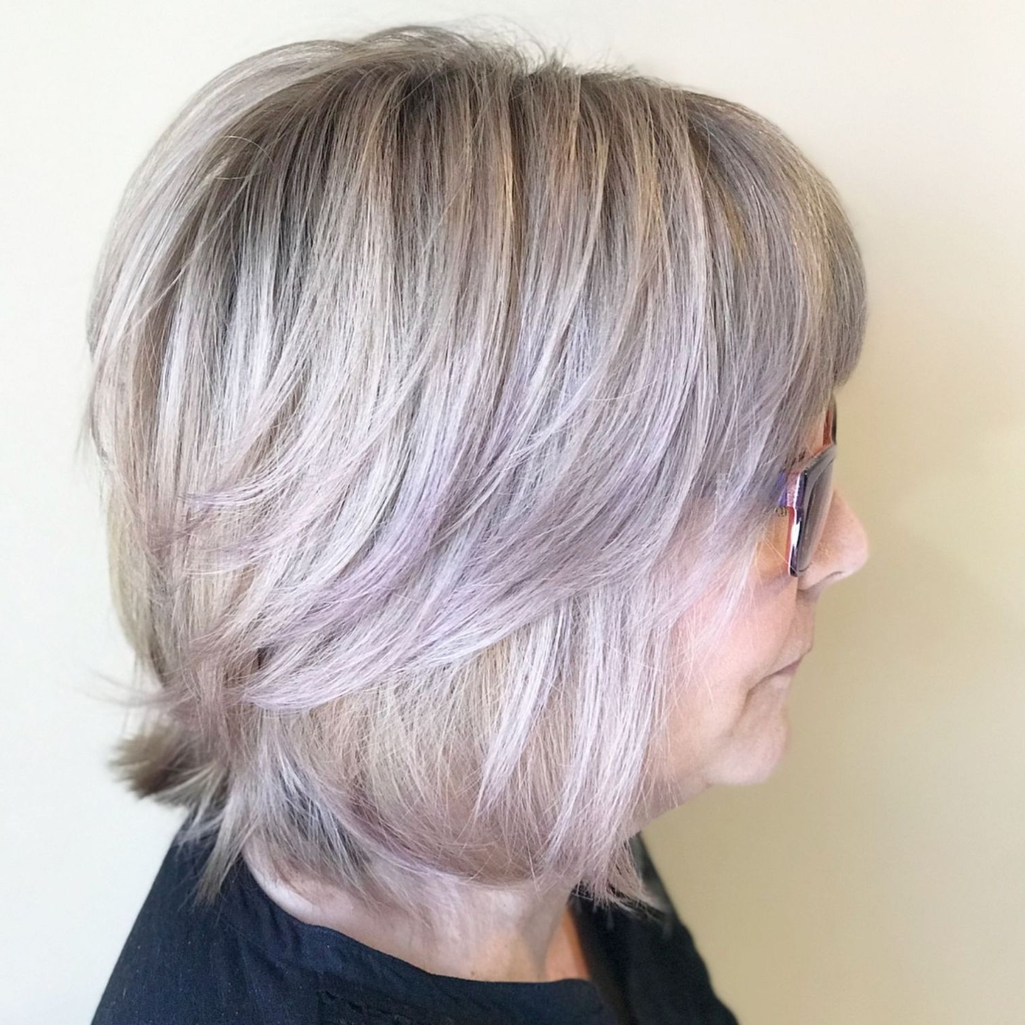 Popular Feathered Ash Blonde Hairstyles Regarding 60 Gorgeous Gray Hair Styles (View 15 of 20)