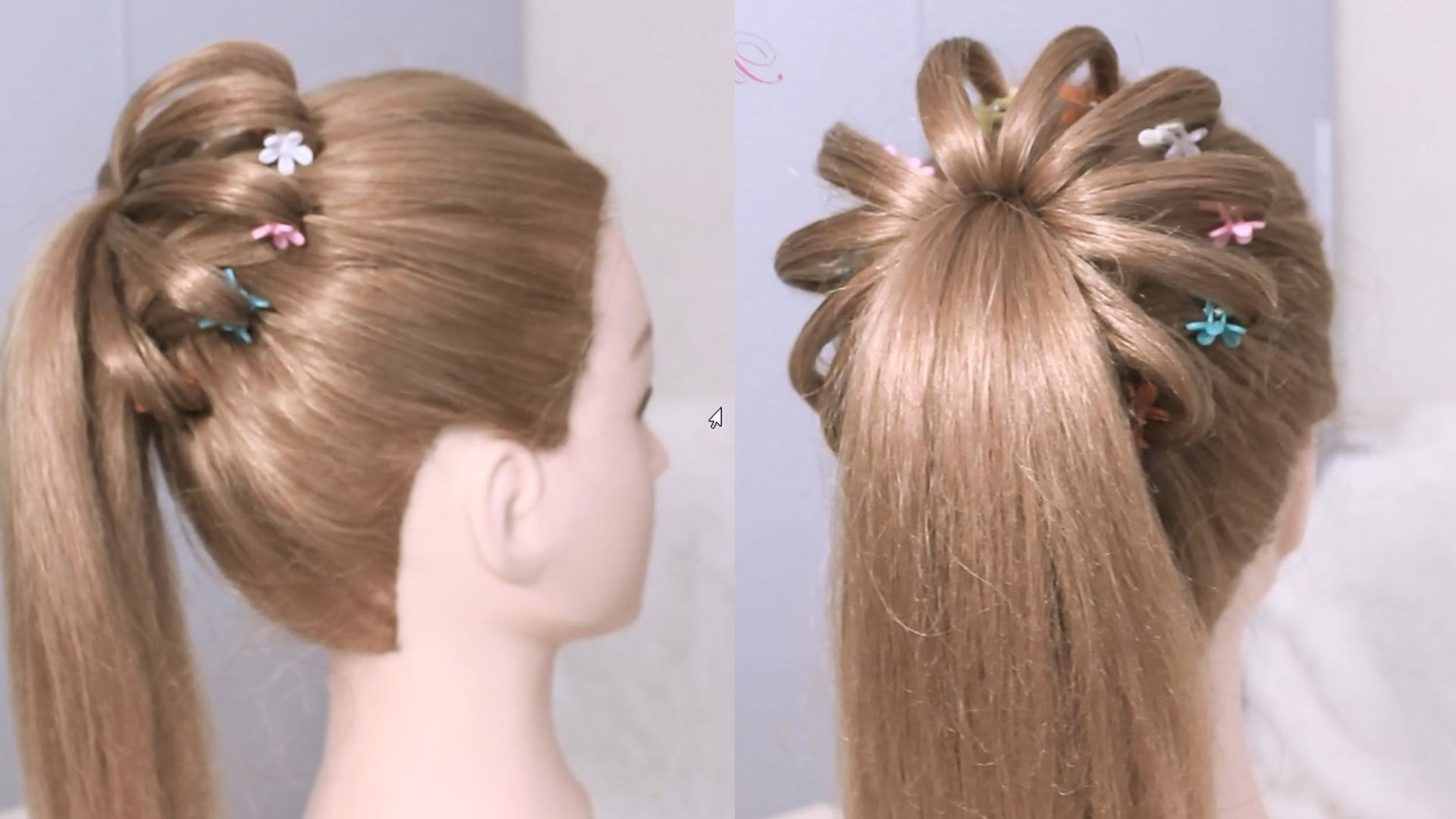 Popular High Ponytail Hairstyles With High Ponytail Hairstyle For Long Hair / Braided Ponytail Tutorial (View 14 of 20)