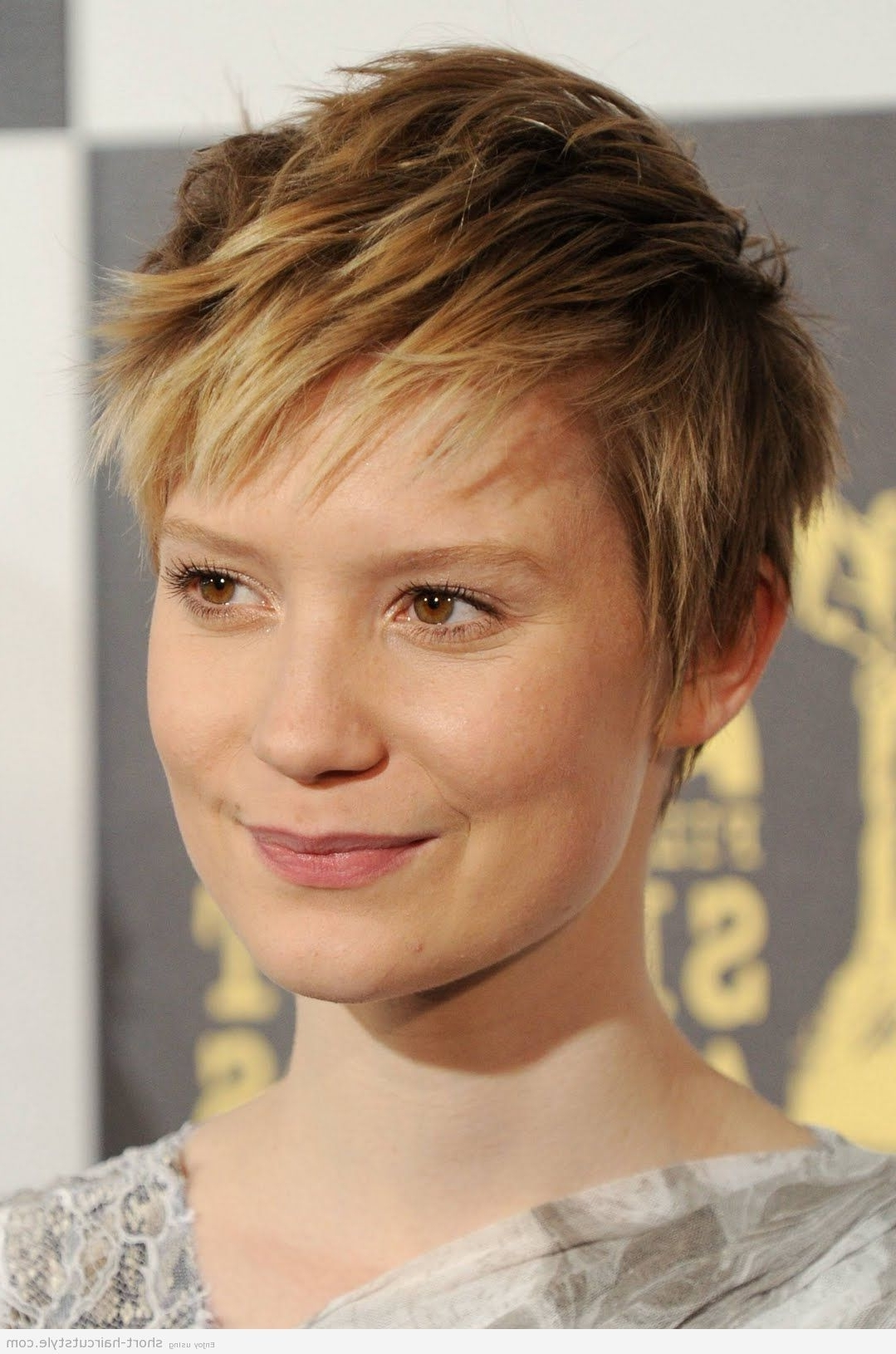 Popular Pixie Wedge Hairstyles Within Pictures Of Wedge Hairstyles For Older Women (View 11 of 20)