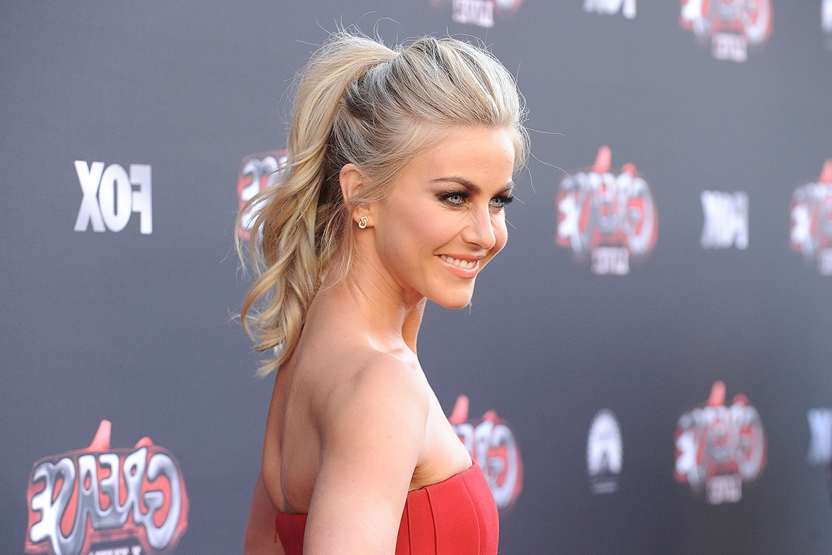 Popular Red Carpet Worthy Hairstyles Regarding Easy Ponytail Hairstyles Perfect For Post Workout (View 17 of 20)