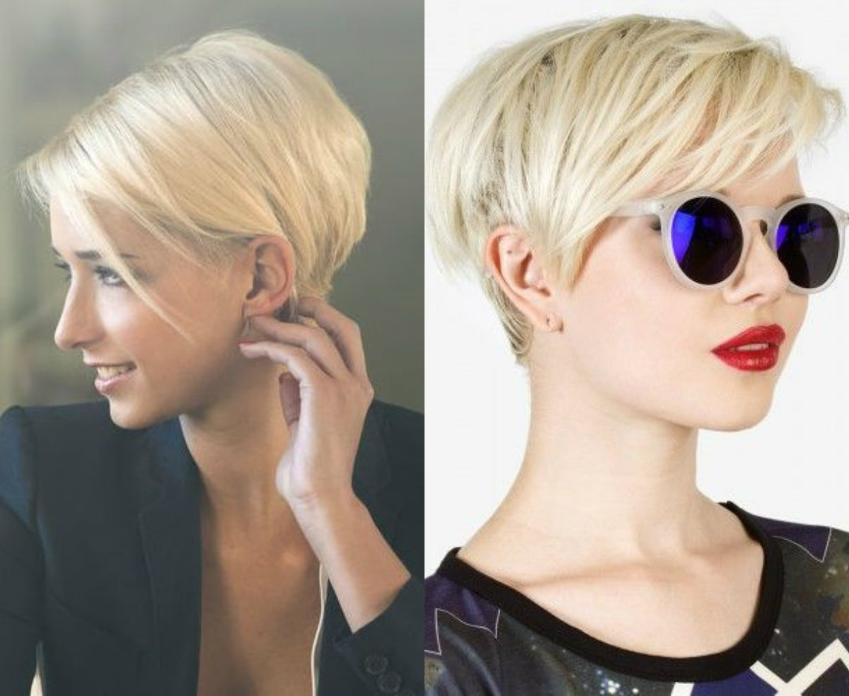 Popular Short Blonde Bob Hairstyles With Layers Within Layered Bob Haircuts Ideas For Thin Hair (View 16 of 20)