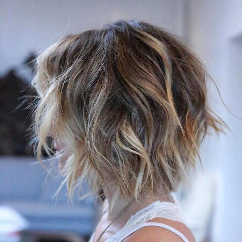 Preferred Balayage Pixie Hairstyles With Tiered Layers Regarding 100 Mind Blowing Short Hairstyles For Fine Hair (View 7 of 20)