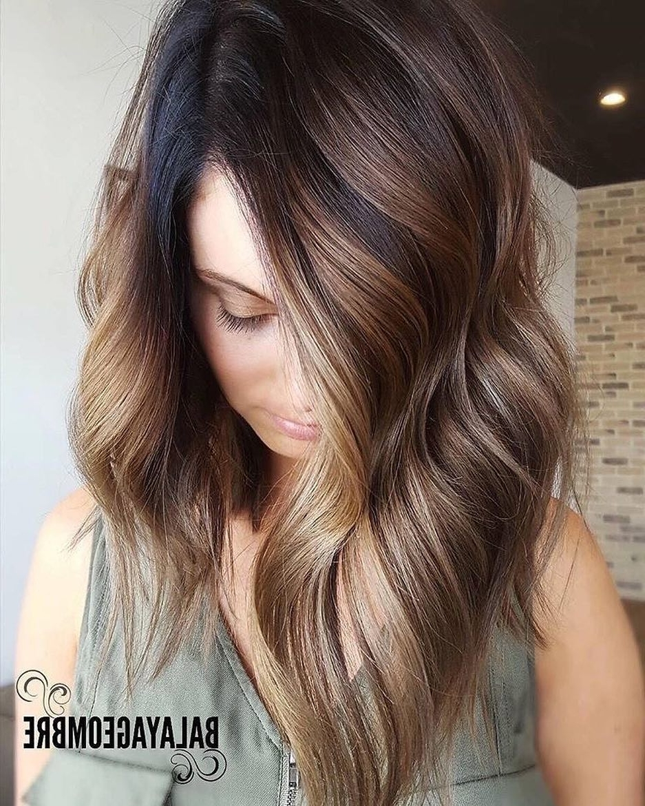 Preferred Beige Balayage For Light Brown Hair Inside 10 Ombre Balayage Hairstyles For Medium Length Hair, Hair Color  (View 17 of 20)