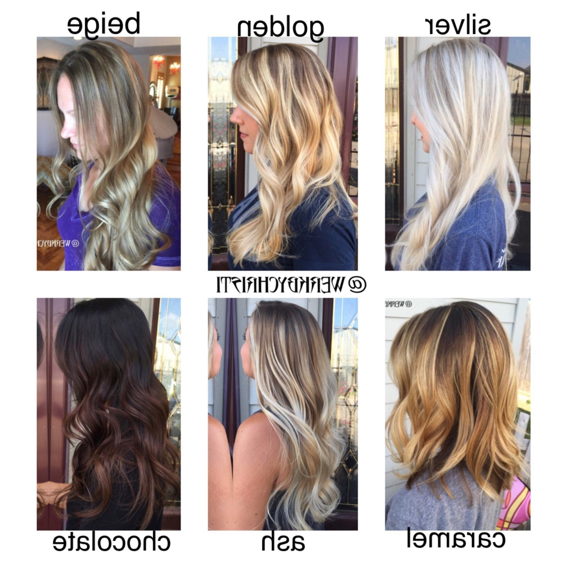 Photo Gallery Of Beige Balayage For Light Brown Hair Viewing 19 Of