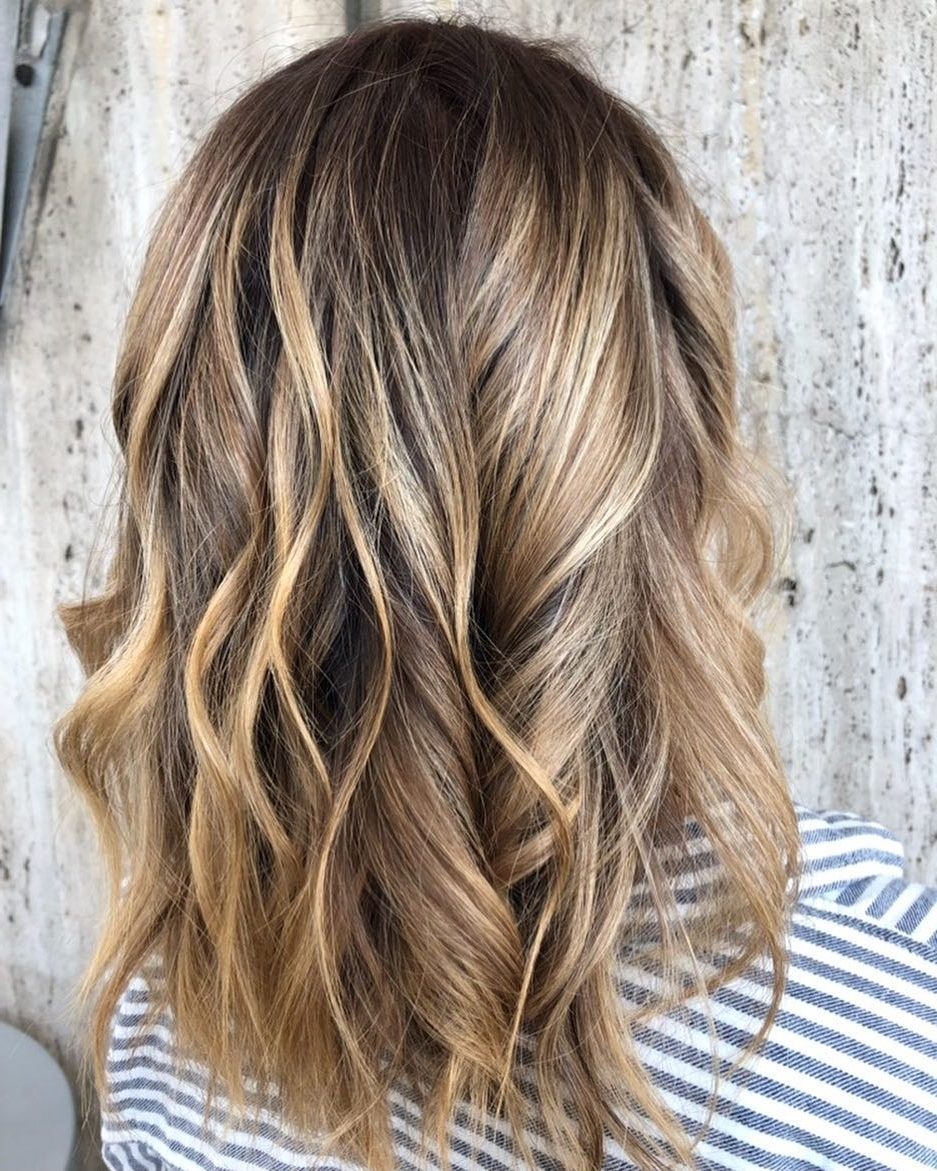Preferred Bronde Beach Waves Blonde Hairstyles Pertaining To Hairstyletrends – Hash Tags – Deskgram (View 14 of 20)