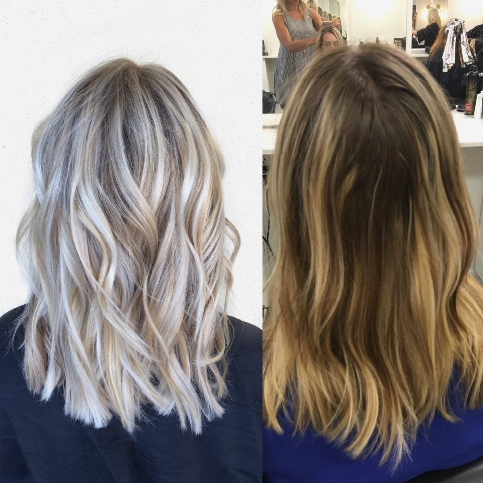 Preferred Brown Blonde Layers Hairstyles Intended For Hair Cuts : Enchanting Ash Blonde Short Hair Hairstyles New (View 18 of 20)