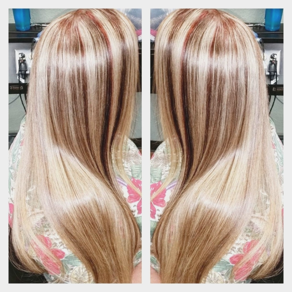 Preferred Light Copper Hairstyles With Blonde Babylights With Blonde Highlights And Copper Lowlights – Hair Colors Ideas – Medium (View 15 of 20)