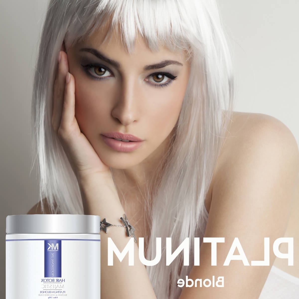 Preferred Long Platinum Locks Blonde Hairstyles In Blondes Rejoice ! The New Majestic Keratin Platinum Blonde Hair (View 16 of 20)