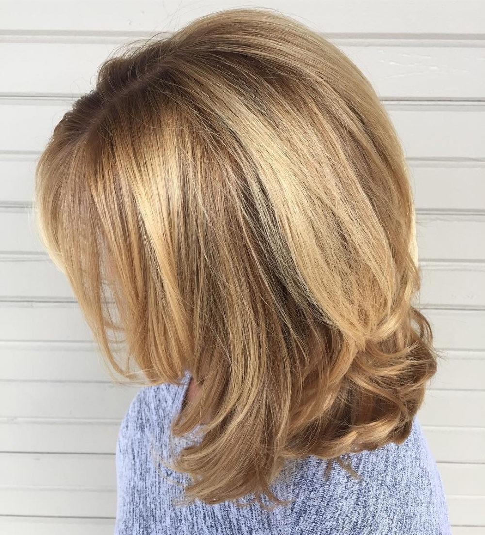 Preferred Multi Tonal Mid Length Blonde Hairstyles Throughout 21 Hottest Honey Blonde Hair Color Ideas Of (View 19 of 20)