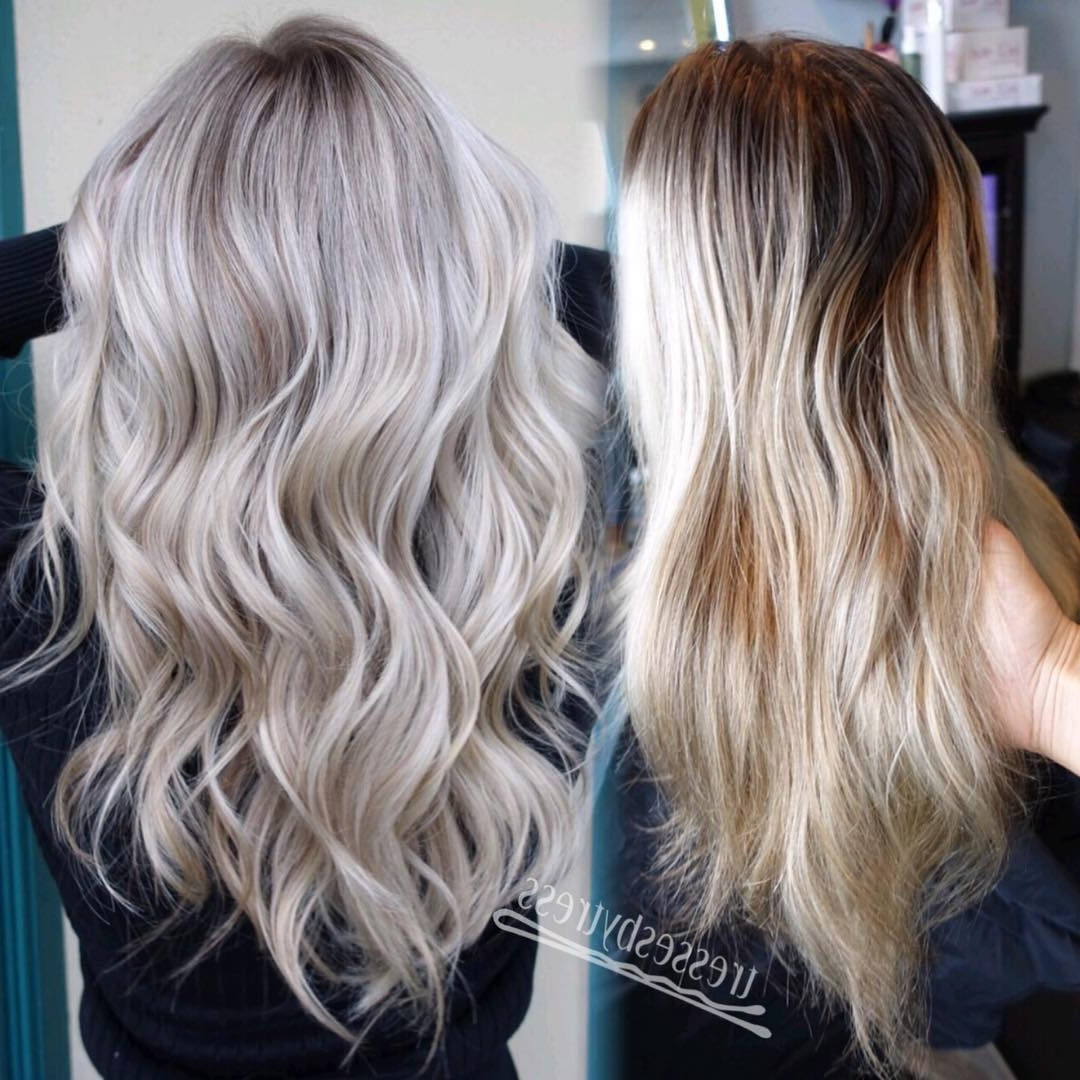 Featured Photo of Pale Blonde Balayage Hairstyles