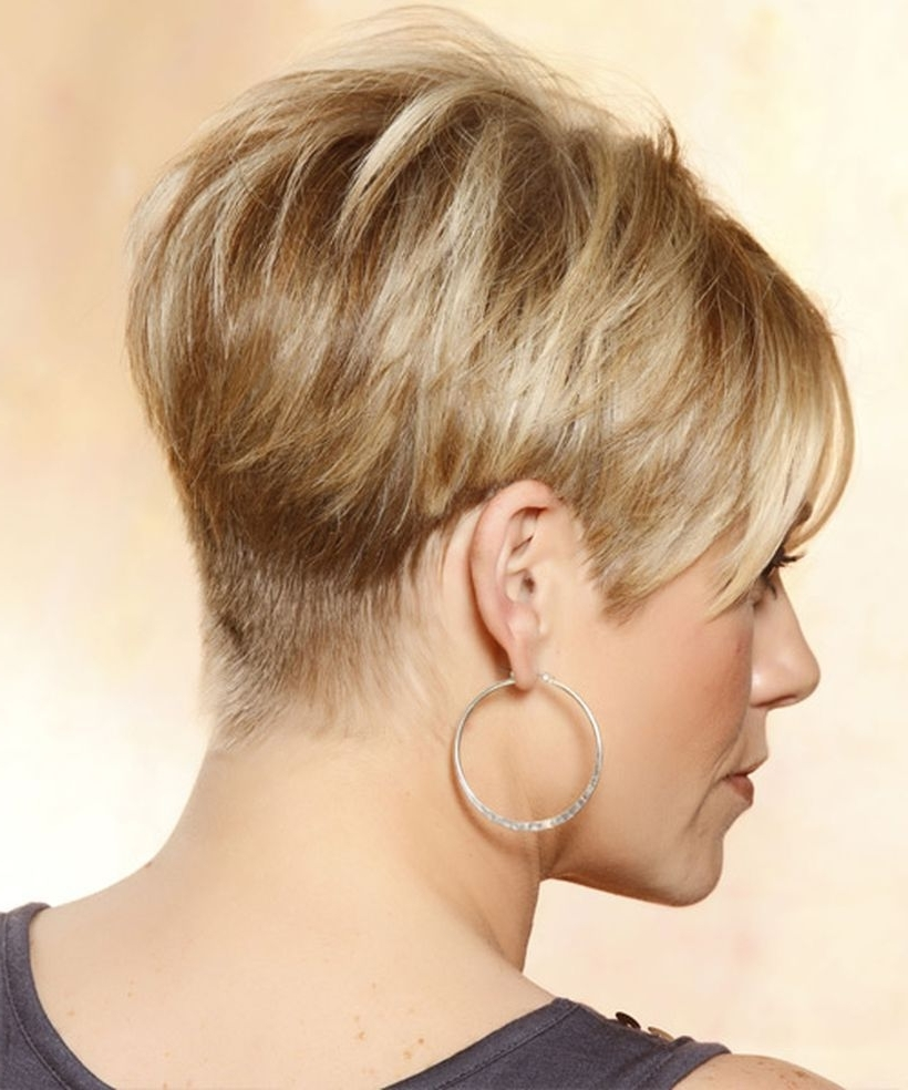 Preferred Pixie Wedge Hairstyles With Regard To Cool Back View Undercut Pixie Haircut Hairstyle Ideas (View 12 of 20)
