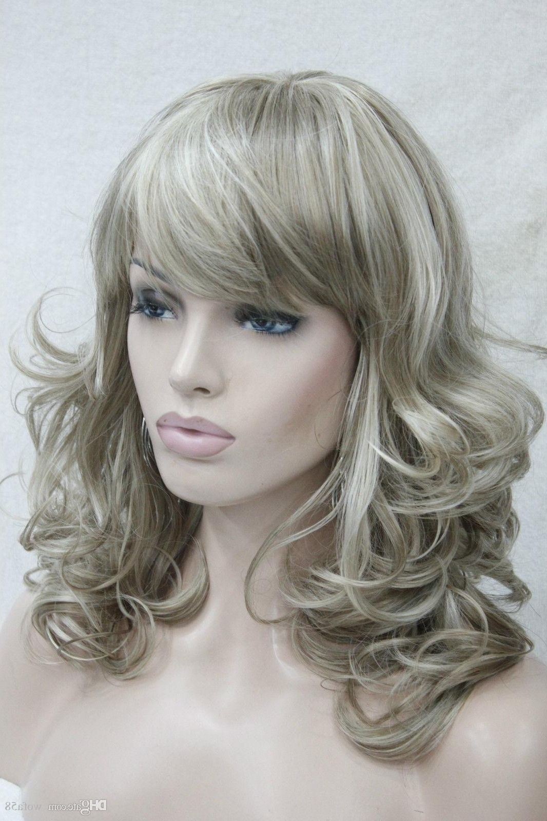 Preferred Soft Flaxen Blonde Curls Hairstyles Throughout New Charming Flaxen With Blonde Medium Length Curly Women's Bangs (View 16 of 20)