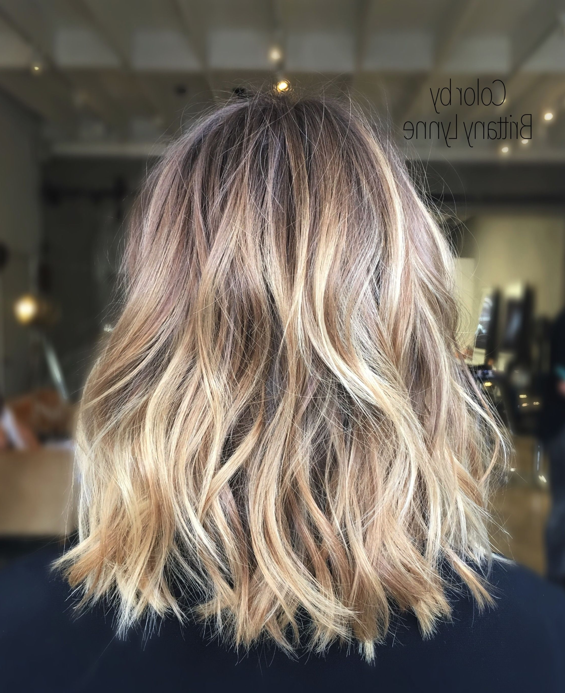 Preferred Sun Kissed Blonde Hairstyles With Sweeping Layers Inside Hair Colorbrittany Lynne (View 6 of 20)
