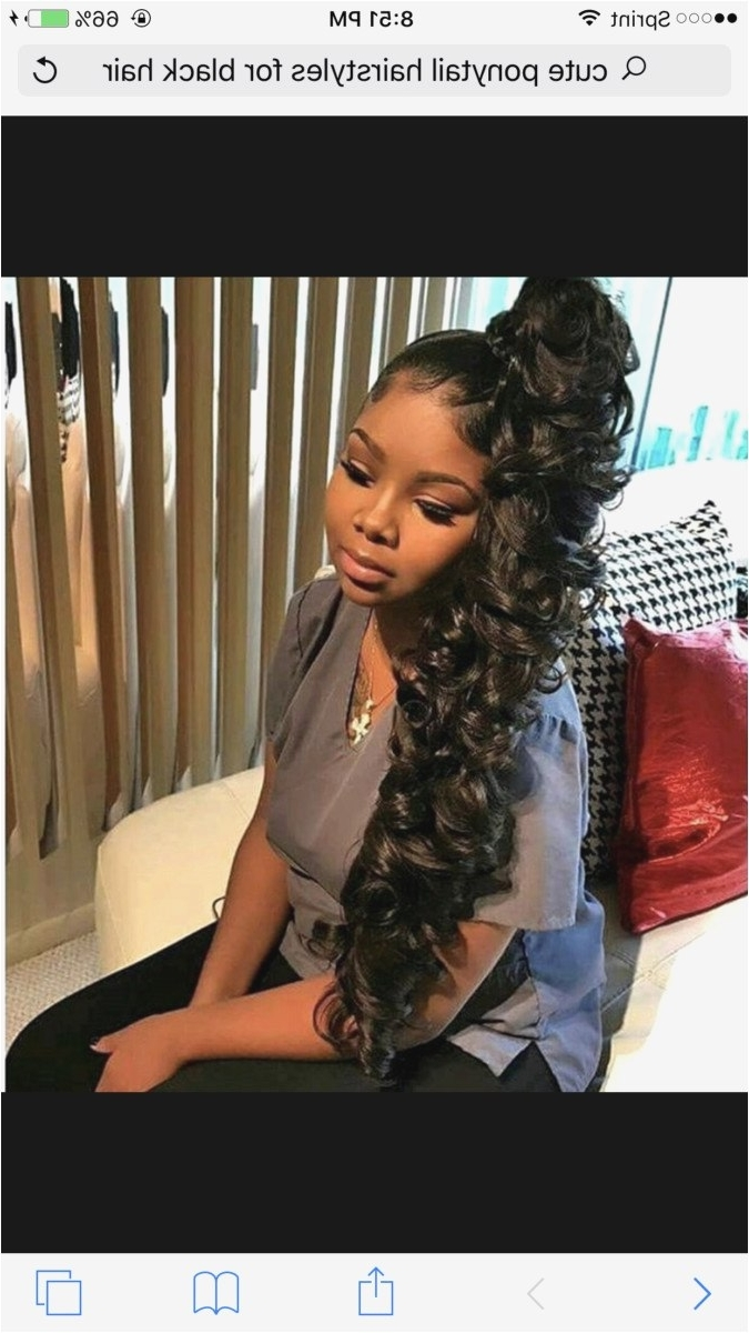 Preferred Weave Ponytail Hairstyles With Regard To 30 Black Hair Weave Ponytail Hairstyles In (View 15 of 20)