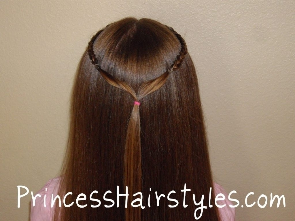 Princess Ponytail Hairstyle Princess Ponytail Hairstyle Hairstyles Intended For Most Up To Date Princess Ponytail Hairstyles (View 17 of 20)
