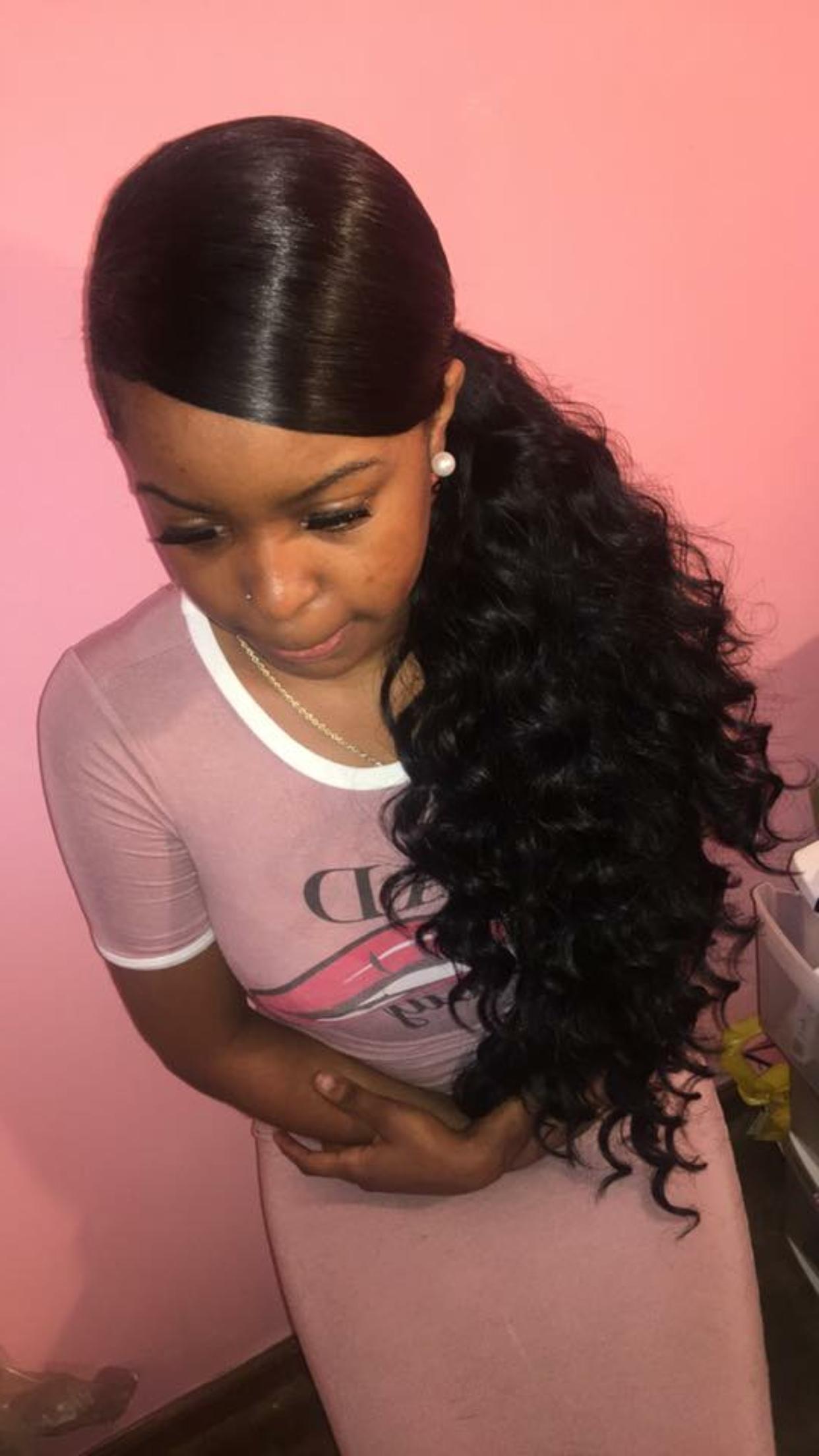 Featured Photo of Long And Sleek Black Ponytail Hairstyles