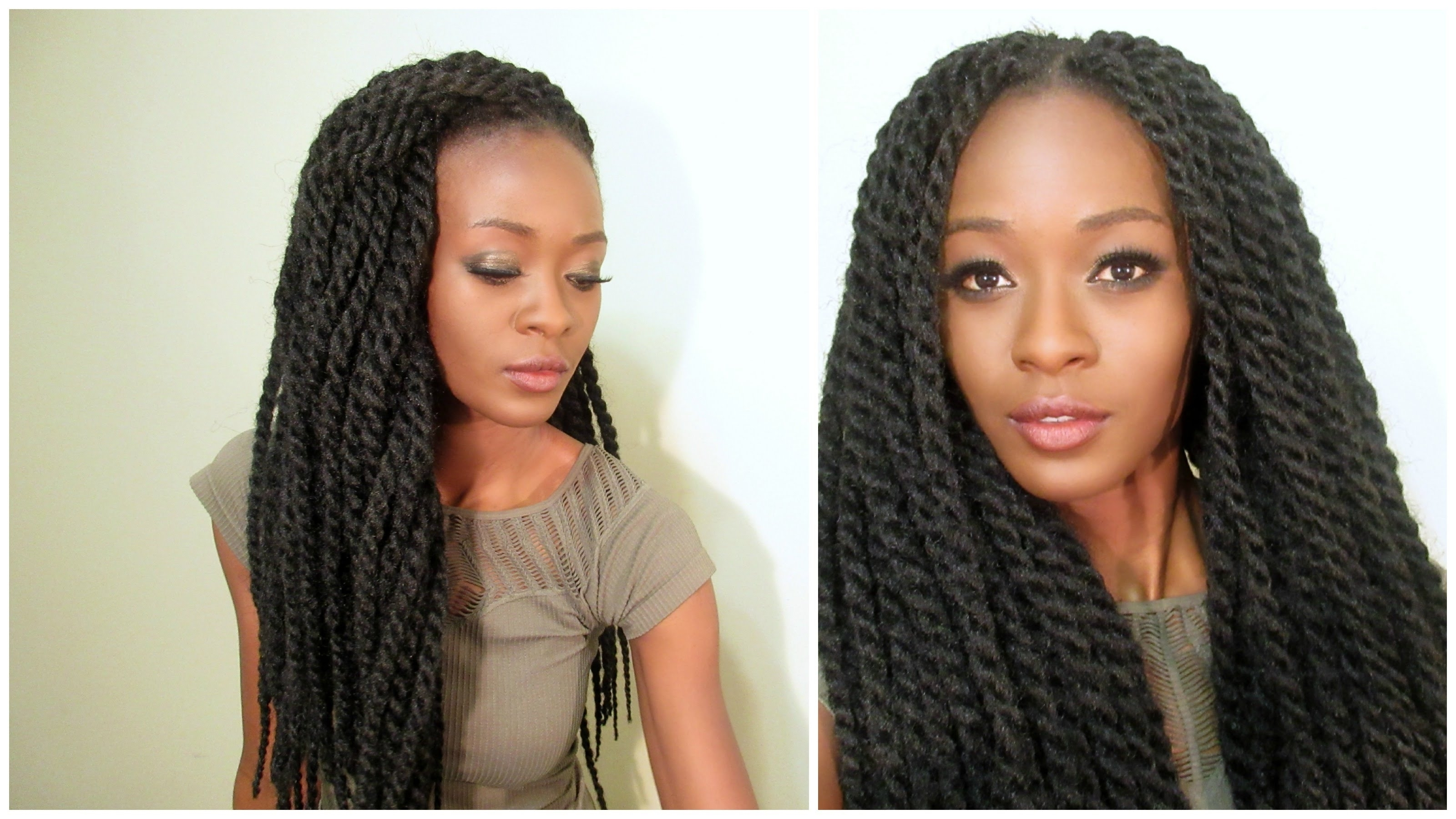 Realistic Senegalese Twist Crochet Braids With Individual Twist For Most Current Black Layered Senegalese Twists Pony Hairstyles (View 19 of 20)
