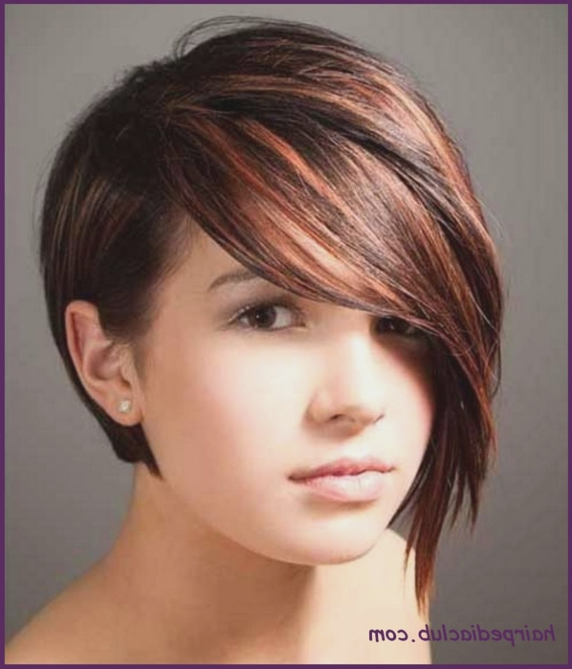 Recent Asymmetrical Long Pixie Hairstyles For Round Faces Throughout Asymmetric Bob Short Haircuts For Fine Hair And Round Faces (View 17 of 20)
