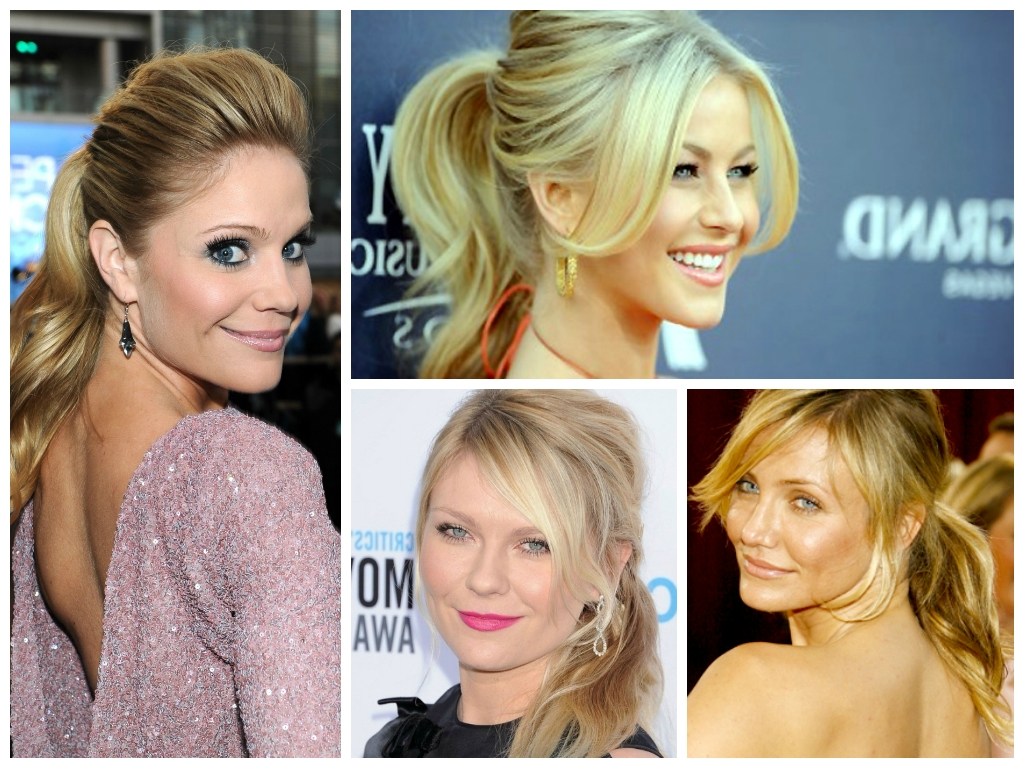 Recent Bardot Pony Hairstyles In The Best Ponytail For Your Face Shape – Women Hairstyles (Gallery 16 of 20)