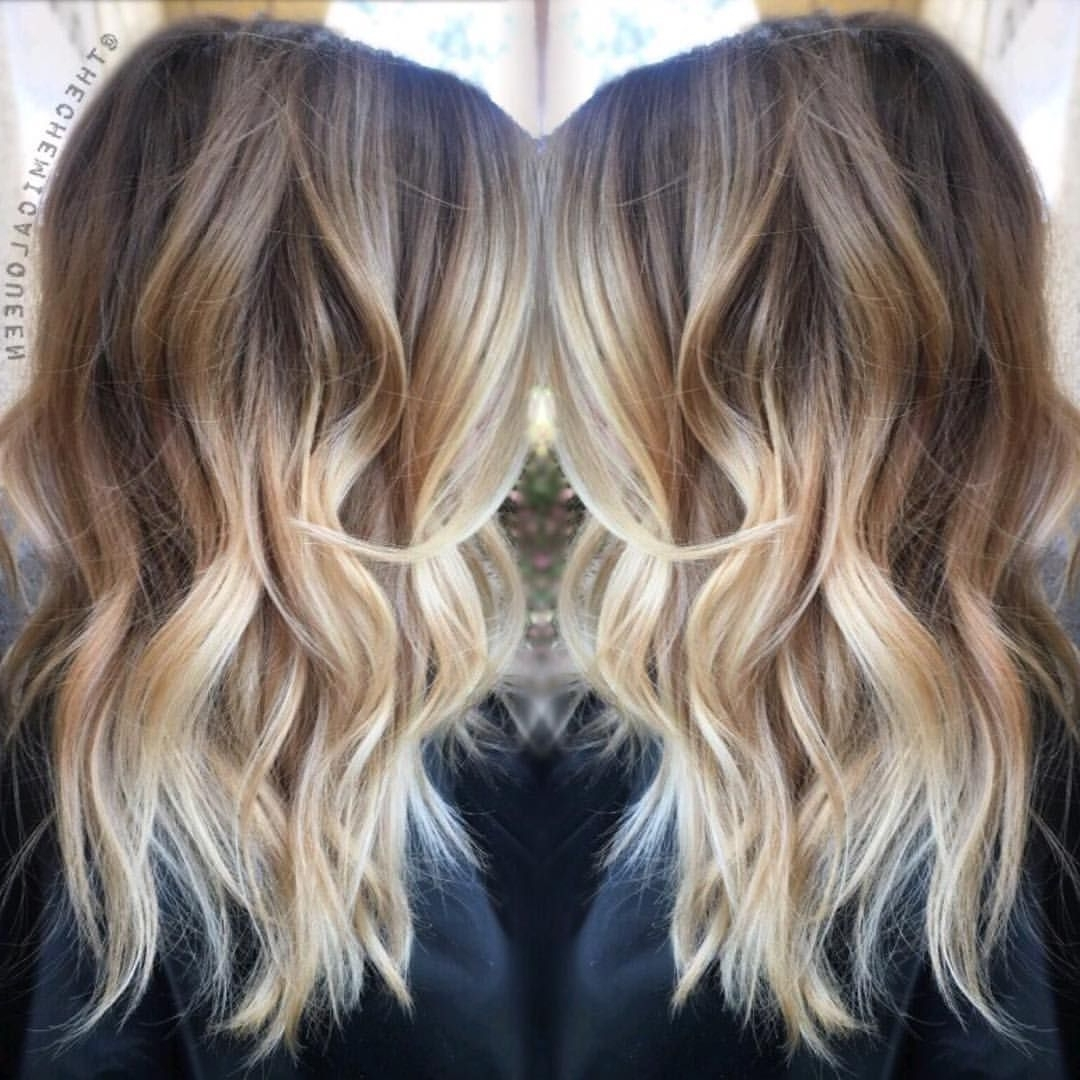 Recent Beige Balayage For Light Brown Hair With Regard To Ash Beige Balayage (Gallery 4 of 20)