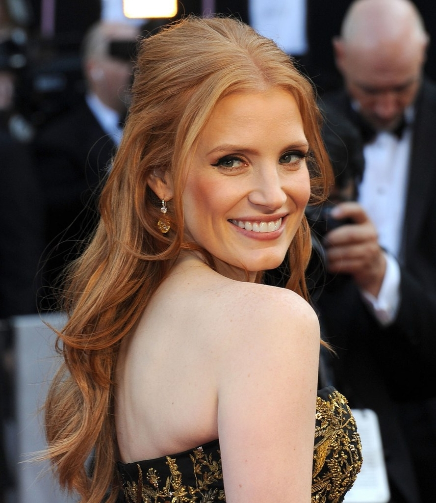 Recent Glamorous Pony Hairstyles With Side Bangs Throughout 25 Of The Best Oscar Hairstyles Ever (View 11 of 20)